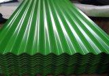Telhados comerciais do OEM/folha ondulada colorida da telhadura com feltro