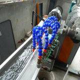 Únicas tubulação do parafuso/máquina eficientes elevadas plásticas extrusora da câmara de ar