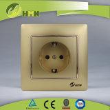 CE/TUV/CB Certified Европейский стандарт красочные токопроводящей дорожки 1 SILVER Schuko Socket
