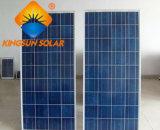 поликристаллическая панель солнечных батарей кремния 165W для солнечной электрической системы