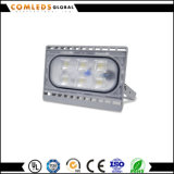 高い内腔Ce/EMC/RoHSの公園ライトのためのフラッドライト3年の保証85-265V IP66アルミニウム130lm/W LED