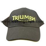 緑の刺繍の野球帽(JRE029)