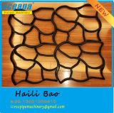 Пластичная прессформа Paver для делать вымощая камни из ваших кирпича и плиток Kurb сада каменных конкретных