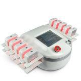 laser gordo del Burning de la lipolisis del laser de 650nm Lipolaser que adelgaza las lámparas del diodo de la máquina 10 pistas grandes