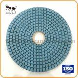 """6개의 """" /150mm 다이아몬드 지면 돌을%s 가는 디스크 거친 기계설비 공구 닦는 패드"""