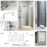 ステンレス鋼のFramelessのシャワーのアクセサリのガラスドアの長方形ガラスクランプ