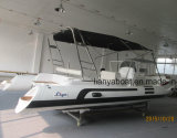 Liya nervure 6,6 m Grand Bateau Bateau à voile Bateau à moteur en fibre de verre