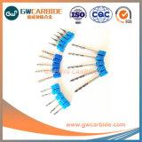 1,0X3X50 HRC45-50 carboneto de tungsténio 3 Flute Moinho Final