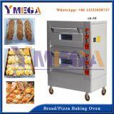 Venta caliente pizza horno automático de frenado de la máquina de China