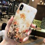 Новый ультратонкий 3D шаблоны цветов при печати с текстурированной поверхностью TPU чехол для iPhone X