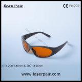 La mejor calidad 2 de la línea vidrios de la protección de ojo de YAG y de Ktp de Laserpair