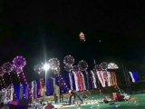 воздушные шары Bobo гелия воздушных шаров партии 30LEDs 3m декоративные с медным светом СИД
