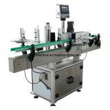 自動丸ビンの正方形のびん1側面2side 3sideの付着力の分類のステッカー機械