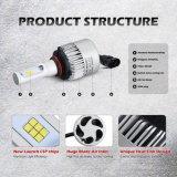 S2 9007 60W 6000lumens PFEILER LED Scheinwerfer-Installationssatz