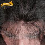 Frontal шнурка человеческих волос полной связанный рукой оптовый