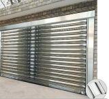 Portello ad alta velocità esterno del garage di obbligazione dell'acciaio inossidabile