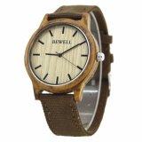 Artesanato em madeira Bewell Assista presente de promoção relógio de pulso