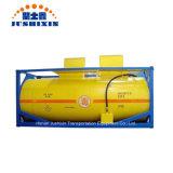20pieds T50 du chlore/GPL//hydrogène Fluorure de fluide réfrigérant/Ammoniac anhydre/éthylène ISO de gaz à oxyde de stockage portable le réservoir en vrac des conteneurs de fret pour la vente