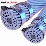 Conduttore Aacsr di rinforzo acciaio della lega di alluminio del gruppo del cavo della gente