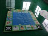 Custom полноцветную печать пользовательские формы велюр резиновый коврик для занятий йогой