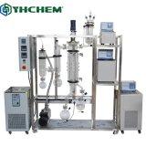 Film court chemin Yhchem effacé évaporateur pour la CDB de Thc distillation d'huile