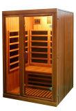 Canadá calentador de carbón de madera de cedro rojo de infrarrojo lejano Sauna Sauna Habitación para 1 persona QD-W1