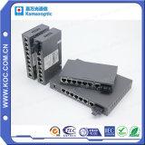 6 de Schakelaar van Gigabit Ethernet van de haven met Enige Vezel