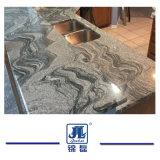 自然な磨かれた子爵White Granite Kitchenおよびホテルのための浴室のカウンタートップ