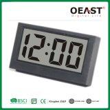 Мини-стильный черный цифровые часы с функцией будильника Ot5517A