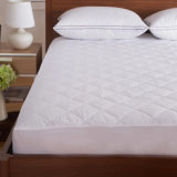 Fabricado en China Wholesale Hotel acolchado impermeable protector de colchón equipado