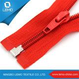 5# Wholesales de nylon de alta calidad de prendas de vestir con cremallera para las prendas de vestir