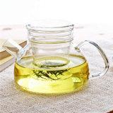 Индивидуальные ясно боросиликатного стекла с Infuser Teapots