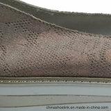 Populares de cuero auténtico de la mujer Ocio cómodos zapatos casual