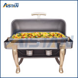 Piatto di logoramento economico degli articoli del buffet del ristorante Zc401A-1 con il coperchio superiore per l'apparecchio di cucina