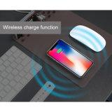 Alfombrilla de ratón de la carga adecuada Antideslizante Office Mobile Phone Qi cargador inalámbrico