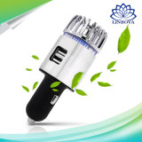 Aire fresco de auto purificador iónico ambientadores desodorante USB Cargador de coche