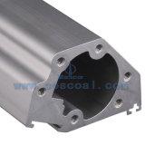 Profil en aluminium extrudé personnalisés avec l'usinage CNC