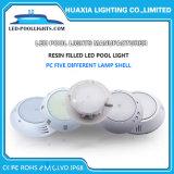 Il RGB colora l'indicatore luminoso subacqueo della piscina dell'indicatore luminoso LED di telecomando