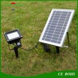 54LED太陽動力を与えられた洪水ライト屋外ランプセンサーの動きの太陽庭ライト
