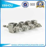 La presión de atomización de aire ajustable del ventilador de plano la boquilla de pulverización de la Ronda de pulverización