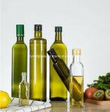 Food Grade vide de couleur sombre de l'huile d'olive Bouteille de verre rondes 500/750/1000ml