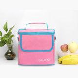 高品質の防水ピクニック昼食袋によって絶縁される携帯用ファブリック熱クーラー袋の大きい記憶袋