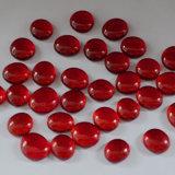 De Rode Parels van uitstekende kwaliteit van het Vlakke Glas/Steen