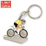 卸し売り安いカスタムスポーツの記念品賞の金属のバイクの人の自転車Keychain