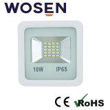 セリウム(正方形)が付いている高い発電10W LEDの洪水ライト