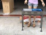 Réglage de la hauteur escamotable simple barbecue barbecue en plein air Rack rack