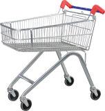 Metalqualitäts-Supermarkt-Einkaufen-Laufkatze