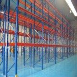 Rayonnage à usage intensif de poutres en acier avec système de montage en rack de stockage de palettes