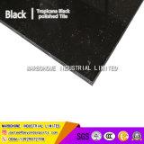 Tropicanaの黒い二重ローディングは磁器の黒い床タイルの壁のタイルによってガラス化されたタイルを磨いた