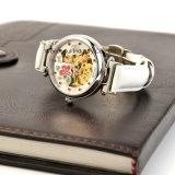 주문 남자와 여자의 형식 스테인리스 기계적인 시계